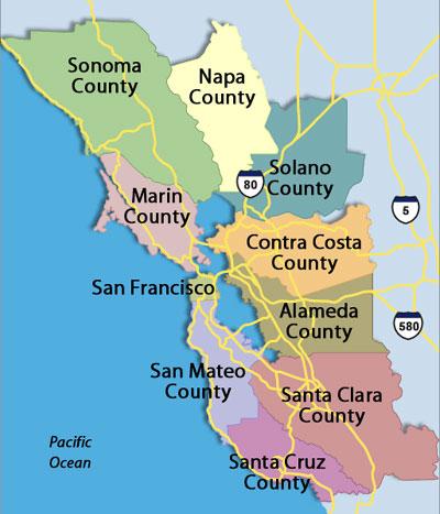 サンフランシスコ周辺地域