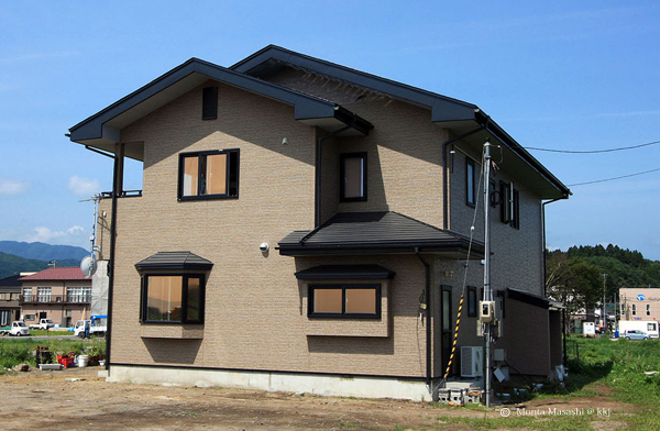津波に耐えたFPの家
