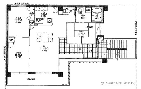 モデル住宅の平面プラン