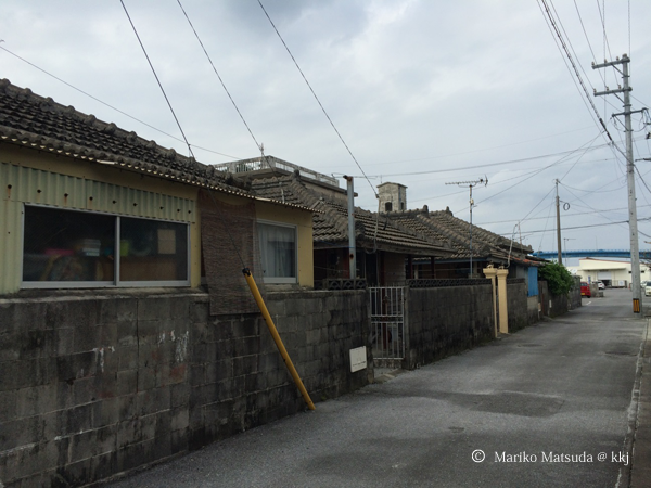本部町内に多く残っている古民家